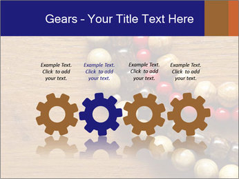 Necklace and beads PowerPoint Templates - Slide 48