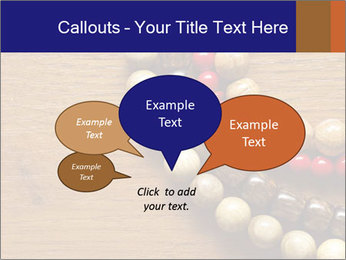 Necklace and beads PowerPoint Templates - Slide 73