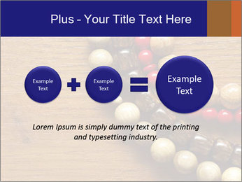 Necklace and beads PowerPoint Template - Slide 75