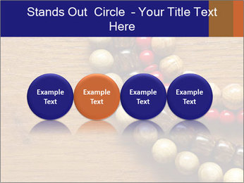 Necklace and beads PowerPoint Template - Slide 76