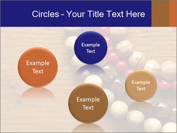 Necklace and beads PowerPoint Template - Slide 77