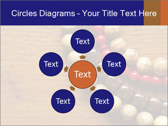 Necklace and beads PowerPoint Templates - Slide 78