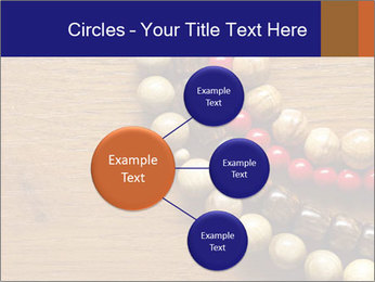 Necklace and beads PowerPoint Templates - Slide 79