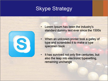 Necklace and beads PowerPoint Templates - Slide 8