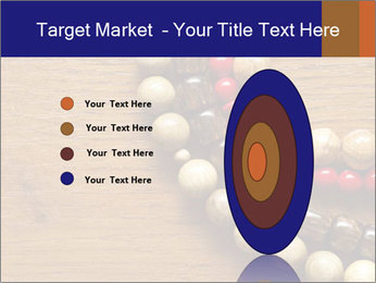 Necklace and beads PowerPoint Template - Slide 84