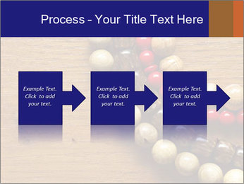 Necklace and beads PowerPoint Template - Slide 88