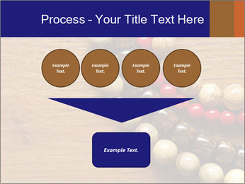 Necklace and beads PowerPoint Templates - Slide 93