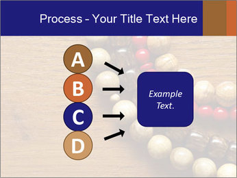 Necklace and beads PowerPoint Templates - Slide 94