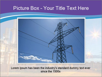 Twilight photo of power plant PowerPoint Templates - Slide 15