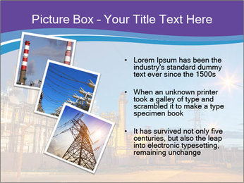 Twilight photo of power plant PowerPoint Templates - Slide 17
