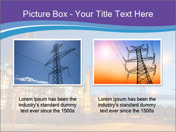 Twilight photo of power plant PowerPoint Templates - Slide 18