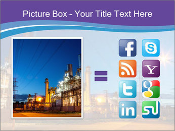 Twilight photo of power plant PowerPoint Templates - Slide 21