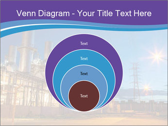 Twilight photo of power plant PowerPoint Templates - Slide 34