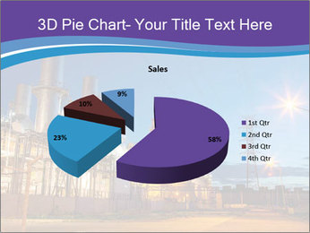 Twilight photo of power plant PowerPoint Templates - Slide 35