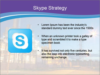 Twilight photo of power plant PowerPoint Templates - Slide 8