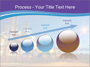 Twilight photo of power plant PowerPoint Templates - Slide 87