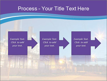 Twilight photo of power plant PowerPoint Templates - Slide 88