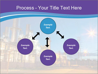 Twilight photo of power plant PowerPoint Templates - Slide 91