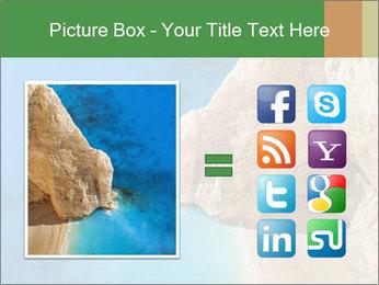 Superb beach Navagio in Zakynthos PowerPoint Templates - Slide 21