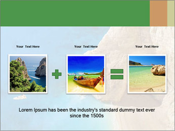 Superb beach Navagio in Zakynthos PowerPoint Templates - Slide 22