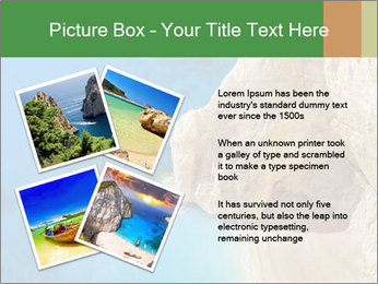 Superb beach Navagio in Zakynthos PowerPoint Templates - Slide 23