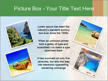 Superb beach Navagio in Zakynthos PowerPoint Templates - Slide 24