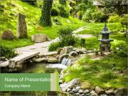 Japanese Garden PowerPoint Templates