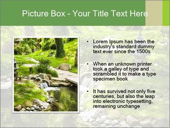 Japanese Garden PowerPoint Template - Slide 13