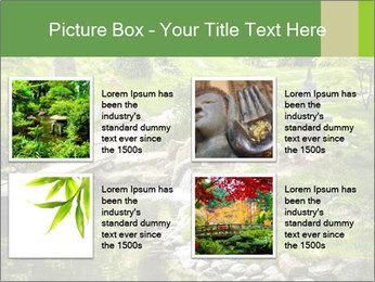 Japanese Garden PowerPoint Template - Slide 14