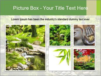 Japanese Garden PowerPoint Template - Slide 19