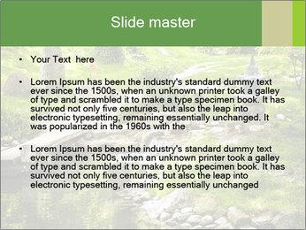 Japanese Garden PowerPoint Template - Slide 2