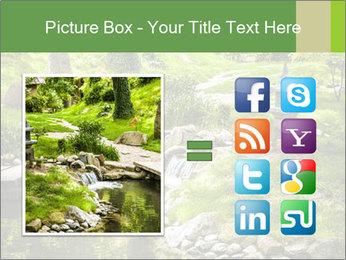 Japanese Garden PowerPoint Template - Slide 21