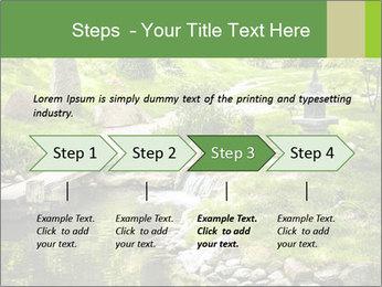 Japanese Garden PowerPoint Template - Slide 4
