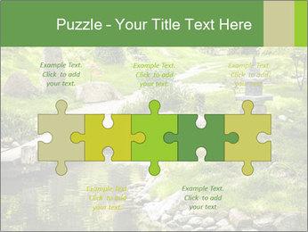 Japanese Garden PowerPoint Template - Slide 41
