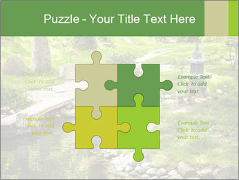 Japanese Garden PowerPoint Template - Slide 43