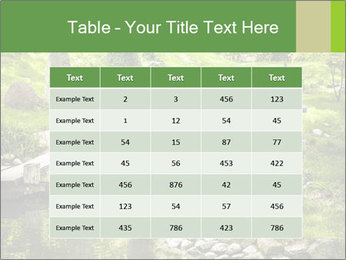 Japanese Garden PowerPoint Template - Slide 55