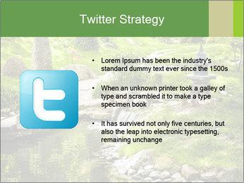 Japanese Garden PowerPoint Template - Slide 9