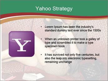 Portrait of a gorgeous superstar PowerPoint Templates - Slide 11