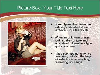 Portrait of a gorgeous superstar PowerPoint Templates - Slide 13