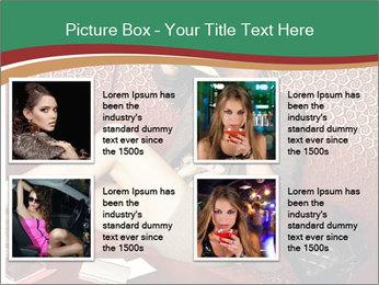 Portrait of a gorgeous superstar PowerPoint Templates - Slide 14