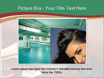 Portrait of a gorgeous superstar PowerPoint Templates - Slide 15