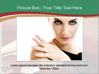 Portrait of a gorgeous superstar PowerPoint Templates - Slide 16