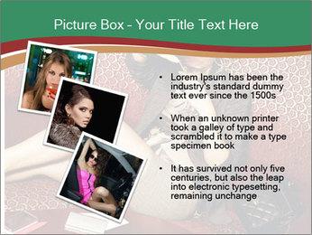 Portrait of a gorgeous superstar PowerPoint Templates - Slide 17