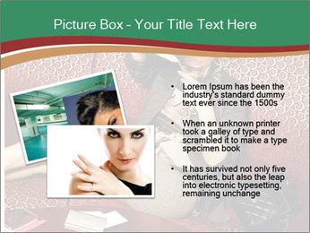 Portrait of a gorgeous superstar PowerPoint Templates - Slide 20