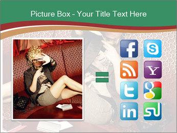 Portrait of a gorgeous superstar PowerPoint Templates - Slide 21