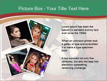 Portrait of a gorgeous superstar PowerPoint Templates - Slide 23