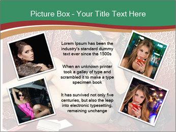 Portrait of a gorgeous superstar PowerPoint Templates - Slide 24