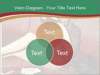 Portrait of a gorgeous superstar PowerPoint Templates - Slide 33