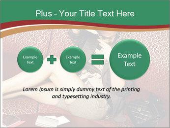 Portrait of a gorgeous superstar PowerPoint Templates - Slide 75