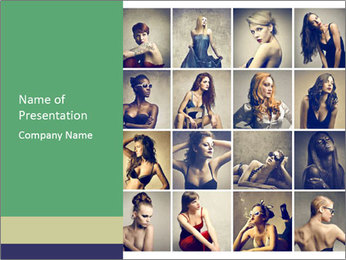 Composition PowerPoint Template - Slide 1